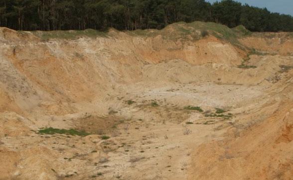 песок карьер